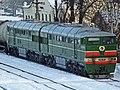 2ТЭ116-449, Россия, Псковская область, станция Пыталово (Trainpix 49798).jpg