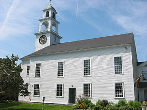 Sudbury, Massachusetts - Sudbury's First Parish Church