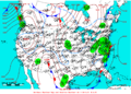 2005-01-30 Surface Weather Map NOAA.png