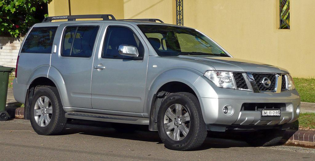 Archivo:2005-2007 Nissan Pathfinder (R51) Ti wagon 01.jpg ...