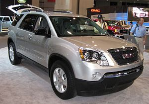 2007 GMC Acadia photographed at the Washington...