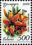 2008. Stamp of Belarus 11-2008-06-10-liliya.jpg