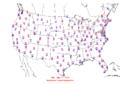 2009-01-27 Max-min Temperature Map NOAA.png