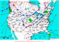2009-03-18 Surface Weather Map NOAA.png