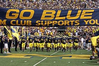 Kevin Grady - Image: 20090905 Michigan Wolverines