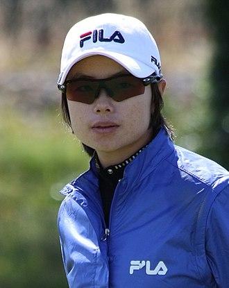 Ji Eun-hee - Ji at the 2009 Women's British Open