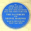 2009 at Gillingham station - the blue plaque.jpg