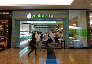 Pinkberry - A Pinkberry location in the Mall of the Emirates, Dubai.