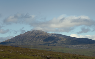 Canisp - Canisp from Knockan Crag