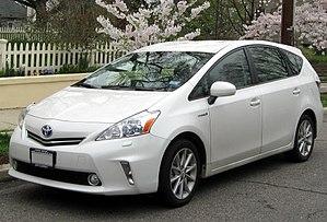Toyota Prius V - Image: 2012 Toyota Prius v 03 21 2012