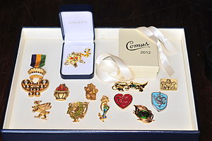 Adler's Jewelry - Custom Mardi Gras pins and favors for the Krewe of Comus, 2012