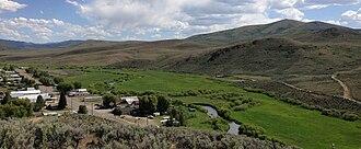 Owyhee River - Owyhee River through Mountain City, Nevada