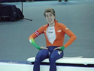 Jorrit Bergsma Dutch speed skater