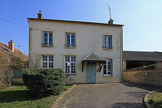 Bois-Herpin - The town hall of Bois-Herpin