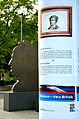 2014-06-02 Hannover - Very Britsh, Säule 10, Leibniz Denkmal, Georgstraße, Georgsplatz , (01).JPG
