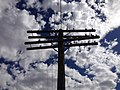 2014-06-21 15 49 21 Utility pole along the railroad in Palisade, Nevada.JPG