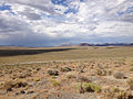 2014-07-18 16 31 50 View north-northeast from the north lip of the Lunar Crater, Nevada.JPG