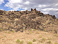 2014-07-18 17 02 31 Close view of the west edge of the Black Rock Lava Flow, Nevada.JPG