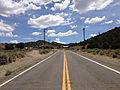 2014-07-30 12 01 08 View east along Nevada State Route 377 (Manhattan Road) about 6.2 miles east of Nevada State Route 376 (Tonopah-Austin Road) in Manhattan, Nevada.JPG