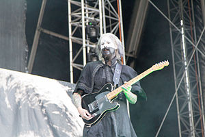 John 5 (guitarist) - John 5 performing with Rob Zombie at Nova Rock 2014