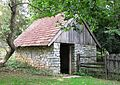 2014 Landis Valley Museum Building 3 Log Farm 2.jpg