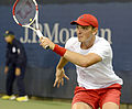 2014 US Open (Tennis) - Qualifying Rounds - Andreas Beck (15053116381).jpg