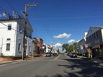 Marshall, Virginia - Main Street in Marshall