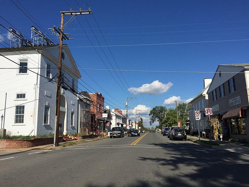 Main Street in Marshall