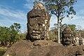 2016 Angkor, Angkor Thom, Brama południowa (18).jpg