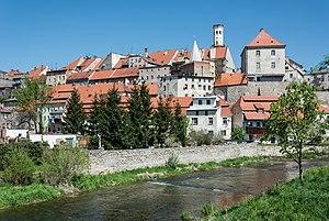 Bystrzyca Kłodzka - Old town and Nysa river