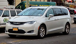 Chrysler Pacifica (minivan) Motor vehicle