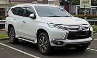 2017 Mitsubishi Pajero Sport 2.4 Dakar Ultimate wagon (KR1W; 12-22-2018), South Tangerang.jpg