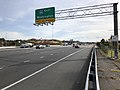 2018-11-01 14 41 57 View south along Virginia State Route 28 (Sully Road) at the exit for Interstate 66 EAST (Washington) in Centreville, Fairfax County, Virginia.jpg