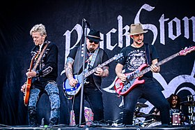 Black Stone Cherry performing in 2018