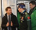 2019-01-11 Pressetermin Ministerpräsident Michael Kretschmer at FIS Cross-Country World Cup Dresden by Sandro Halank–019.jpg