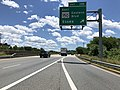 2019-06-14 13 22 08 View south along the Inner Loop of the Baltimore Beltway (Interstate 695) at Exit 38B (EAST Maryland State Route 150-Eastern Boulevard, Essex) in Dundalk, Baltimore County, Maryland.jpg