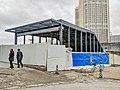 20190209 West Entrance under Construction of Ninghua Station.jpg