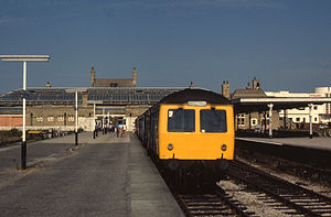Morecambe railway station - The station in 1984