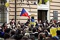 25. výročí Sametové revoluce na Albertově v Praze 2014 (38).JPG