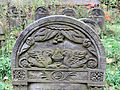 251012 Detail of tombstones at Jewish Cemetery in Warsaw - 29.jpg