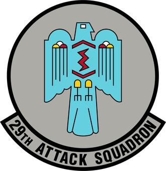 29th Attack Squadron - Image: 29 Attack Sq emblem