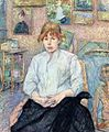 2 Henri de Toulouse-Lautrec Carmen Gaudin Red-Headed Woman in a White Blouse.jpg