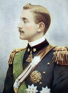Prince Emanuele Filiberto, Duke of Aosta Italian general