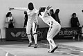 2nd Leonidas Pirgos Fencing Tournament. Counter-attack and score for Irini Mavrikiou.jpg