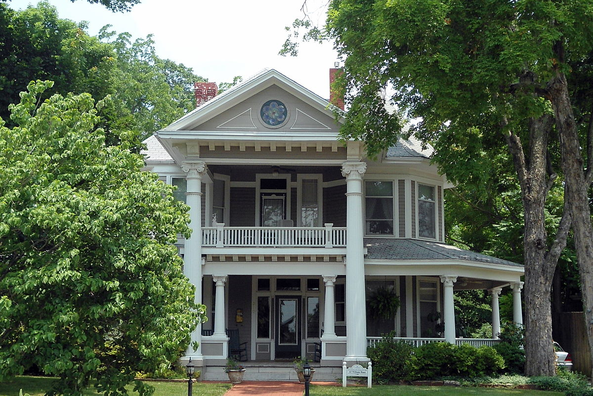 Washington willow historic district wikipedia for Home builders in arkansas