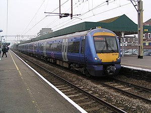 London, Tilbury and Southend Railway - A c2c Electrostar train on the LTSR