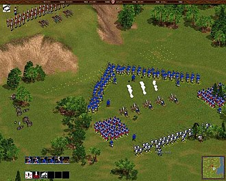 Cossacks: European Wars - Two armies meet