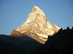 4028 - Zermatt - Matterhorn from Kirchebrücke.JPG