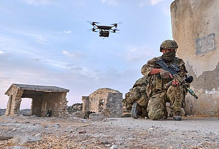 40 Commando Royal Marines helping trial the Littoral Strike concept in 2020.