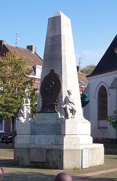 Monument aux Morts - Place de Verdun, 59 Lannoy